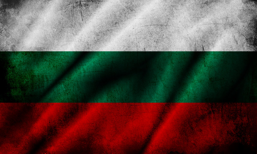 grunge bulgarian flag by sein anc