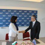Министър Кунева подписа меморандум за разбирателство между МОН и института Яд Вашем