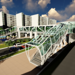 Студенти от Варненския свободен университет с новаторски визии за изграждането на пешеходен надлез