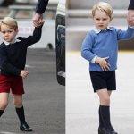 Защо принц Джордж носи винаги къси панталони