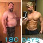 Баща преобрази тялото си напълно заради децата си