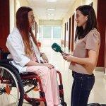 Каузата на Дария: Да бъде лекар, макар и в инвалидна количка