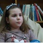8-годишната Илияна от Силистра прочела 111 книги за една година.