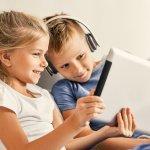 Децата, които не посещават детска градина, седят пред екраните повече!