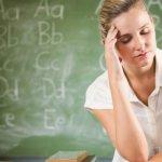 Един на 20 учители има ментален проблем!